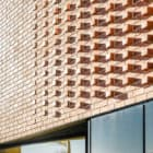 Woolston Community Library brick exterior detailing