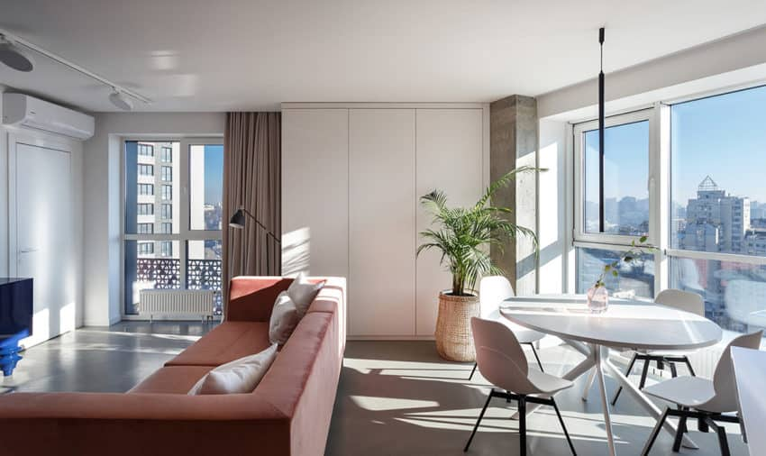 The aptly named Sunny Apartment by Svoya Studio pleases with colour pops and whimsical designs