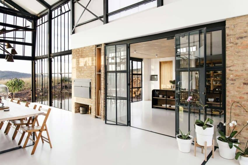 Industrial Style Architect S House Created By Nadine Engelbrecht In