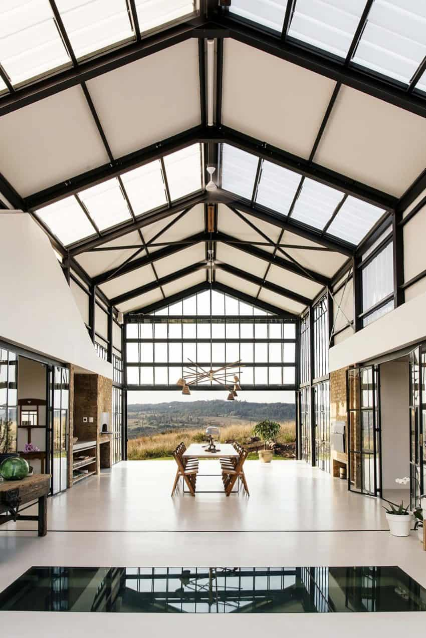 Industrial Style Architect S House Created By Nadine Engelbrecht In South Africa Using A Barn As Inspiration