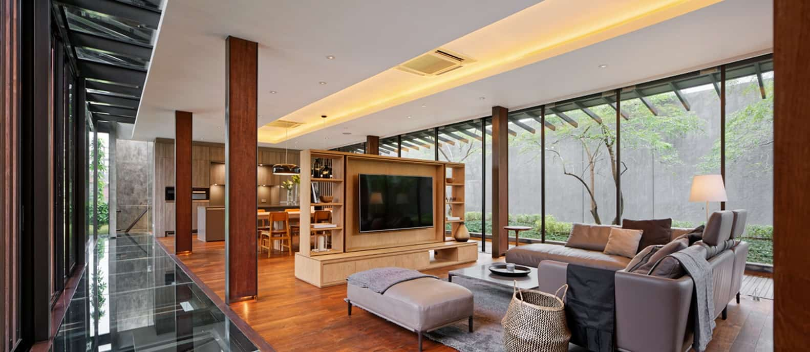 The Upstairs House, a stunning and aptly named home by Wahana Architects, redefines tropical living