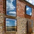 Transformed Ruins loft brick and window detail