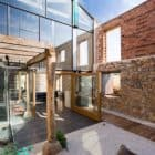 Transformed Ruins loft courtyard alt view