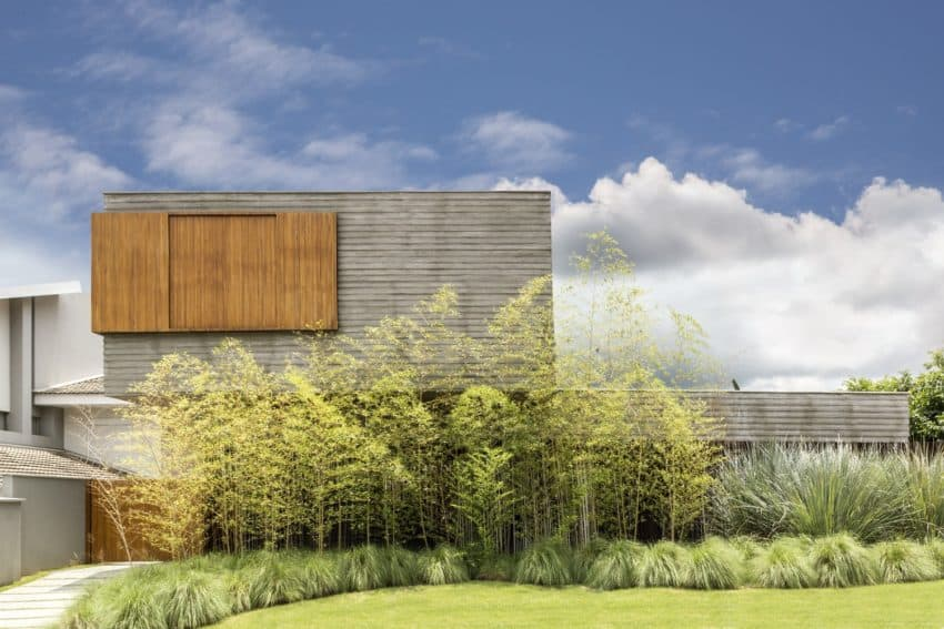 Beautifully named and decorated House of the Winds created by Leo Romano to combine natural materiality with open spaces