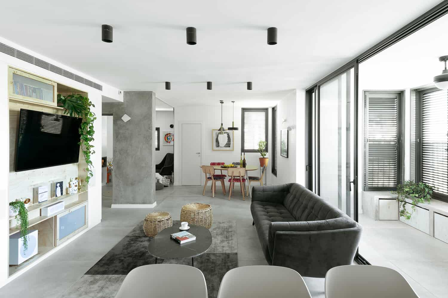 Modern urban apartment in tel aviv created by studio perri - Modern house interior design ...