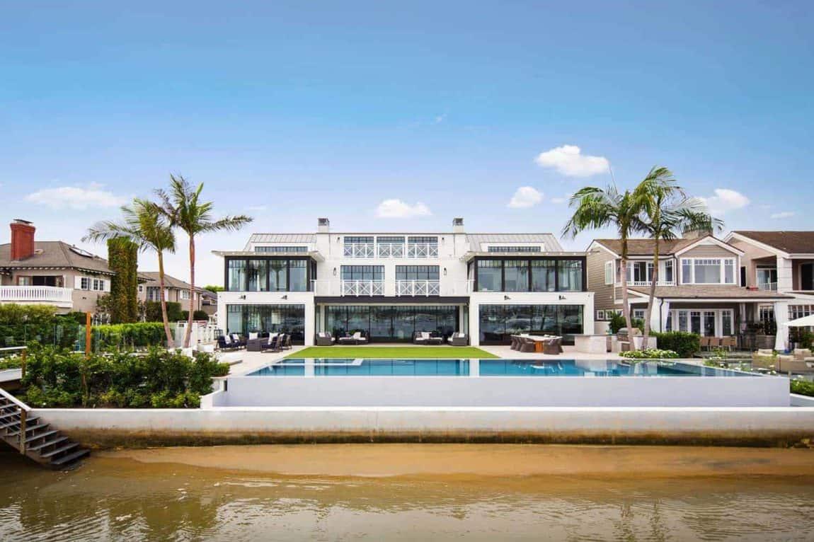 Modern Newport Beach House At The