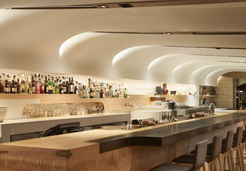 Curvy Canadian Quetzal Bar created by Partisans to celebrate Mexican cuisine