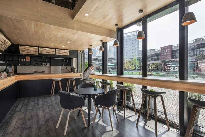 Chinese daodaocoffee created by HAD Architects& EPOS to blend design, experience, and good coffee in one place