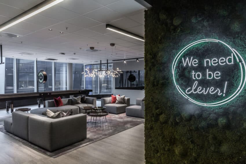 """Norwegian Aker BP Offices adopt a """"work from wherever"""" format thanks to Magu Design"""