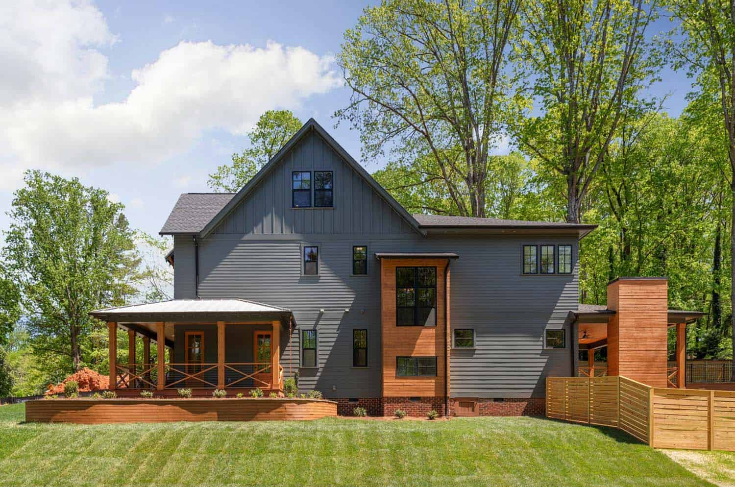 pike properties build stunning modern farmhouse in the sprawling countrysides of north carolina