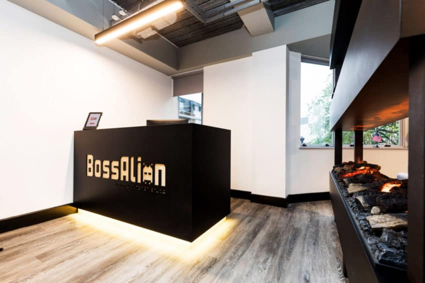 GTA Interior creates innovative new offices in England for gaming company BossAlien