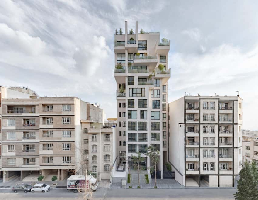 Gorgeous Cedrus Residential building created by Next Office–Alireza Taghaboni in Iran