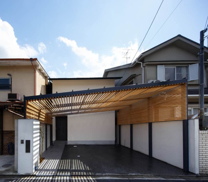 Japanese House in Kyoto created by 07BEACH for a mediative family living experience