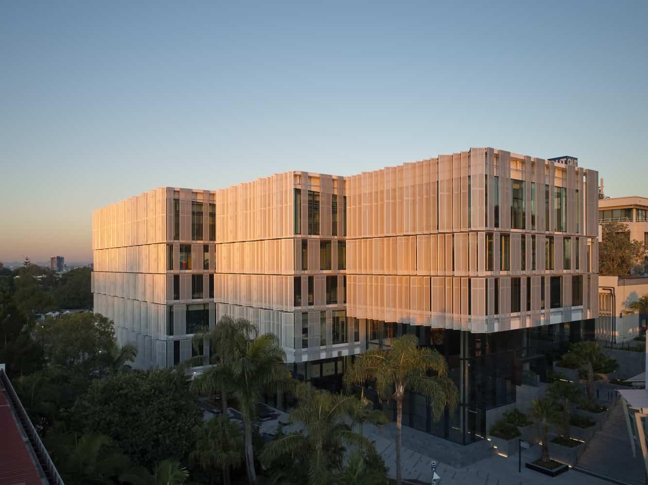 Innovative learning centre Peter Coaldrake Education Precinct created on Australian campus by Wilson Arquitetura