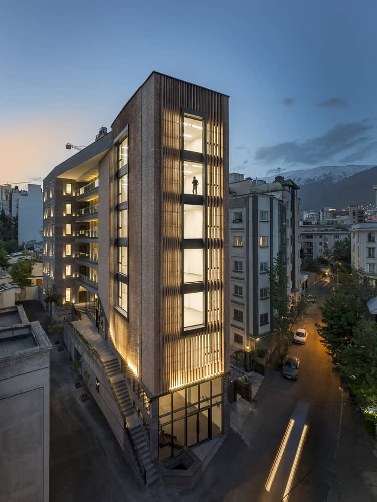 Saba Office Building created by 7Hoor Architecture Studio + SBAD office with an organic industrial atmosphere