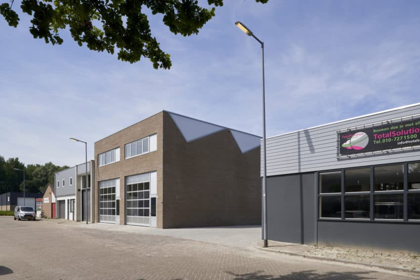 New business site called Industrial Building created by derksen | windt architecten with practicality and sustainability in mind