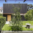 Modern Ryokan Kishi-ke Guest House Japan- G architects studio- courtyard