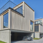 Norway Skogbrynet Houses by R21 Arkitekter