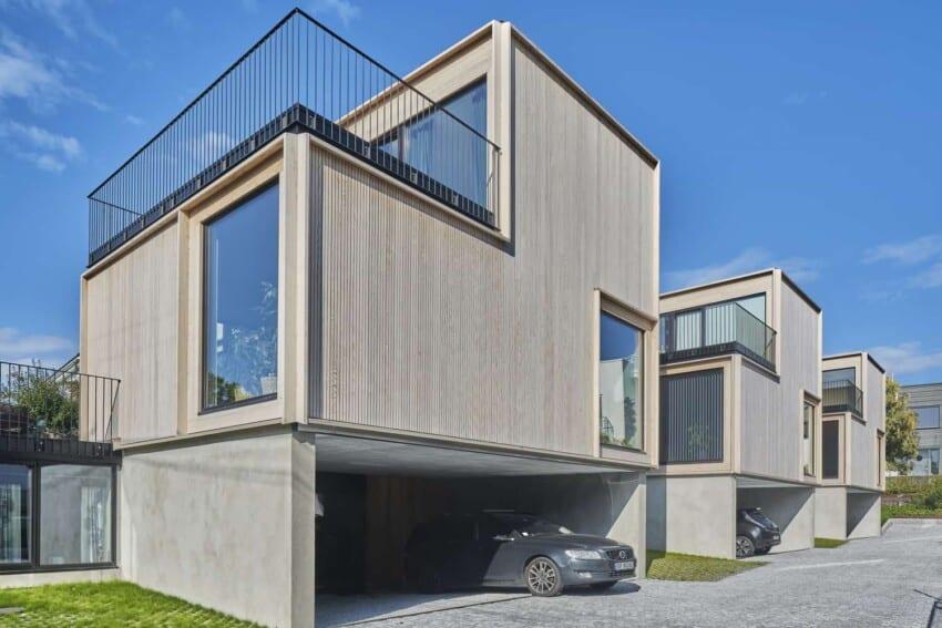 Prefab Norway Skogbrynet Houses by R21 Arkitekter