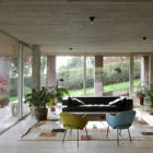 Sloped Villa Belgium Studio Okami Architects- concrete