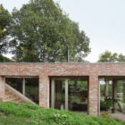 Sloped Villa Belgium Studio Okami Architects- windows