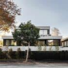 Contemporary facade of Carter Toorak House designed by Carr
