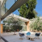 roofless house courtyard
