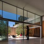 roofless house glass walls