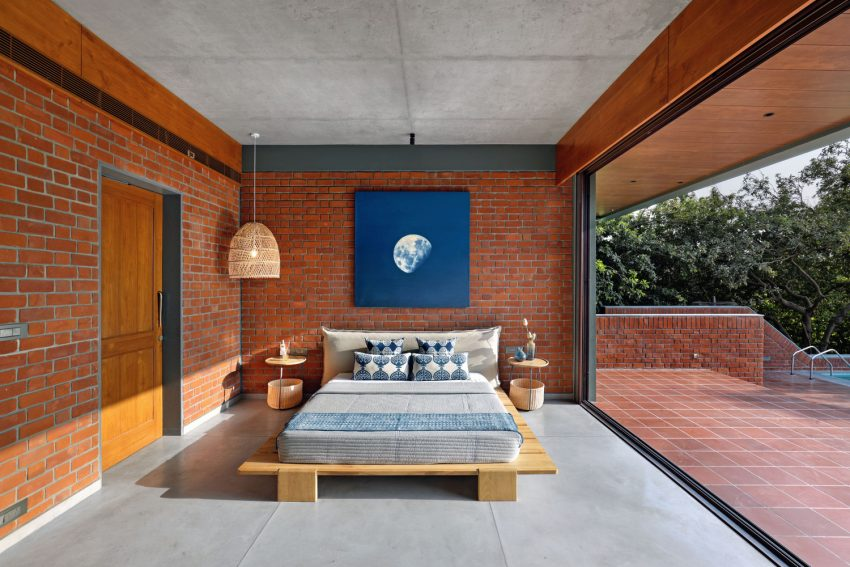 nirmal farm bedroom