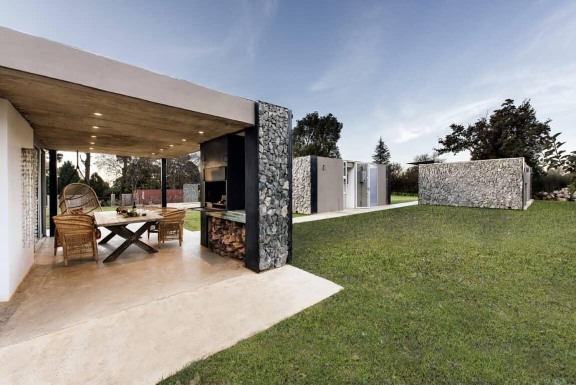 Midlands Pavilion outdoors kitchen